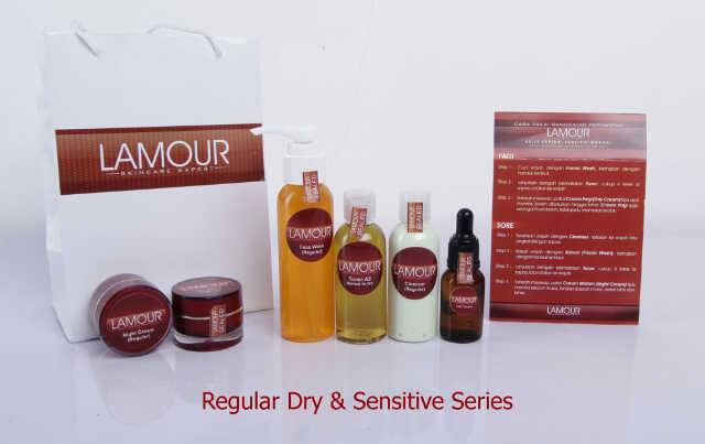 LaMour Beauty Skin Care Regular Dry and Sensitive Acne Series