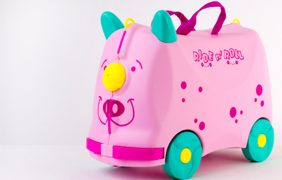 Online Shopping Ride n' Roll Pink for Kids